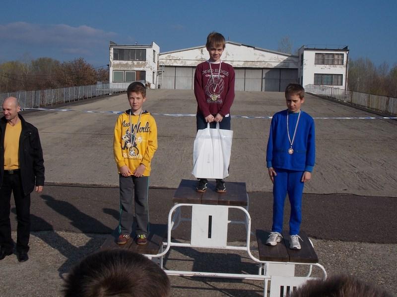 II.kcs fiú egyéni 1.hely Tárnai Bálint 2. hely Gáspár Zoltán