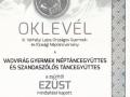 KUKA_ezüst_oklevél